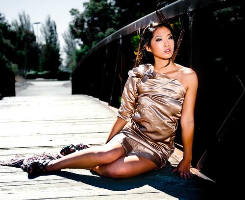 [フリー画像] 人物, 女性, アジア女性, ドレス, 201007220900