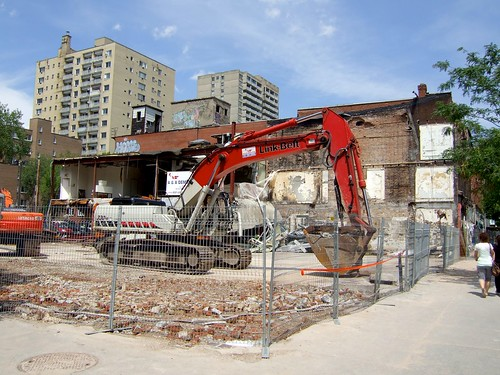 Seville Theatre demolition