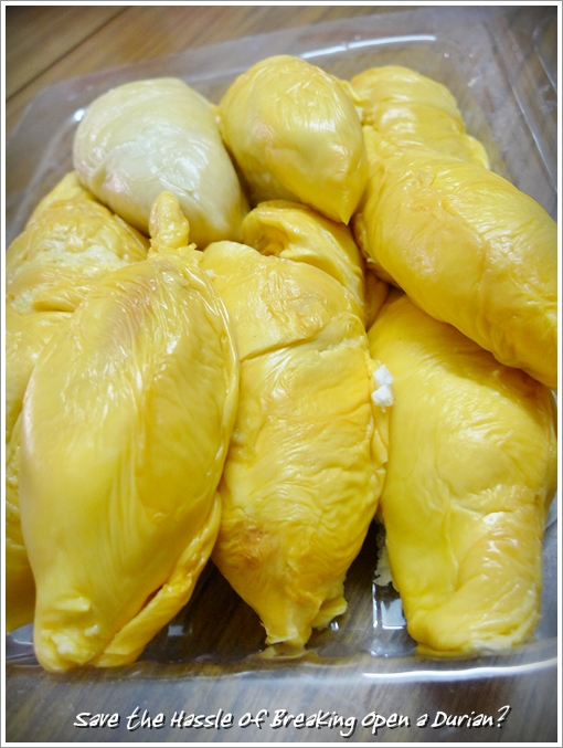 Durian in Packet