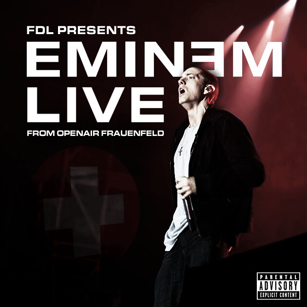 FDL Presents: Eminem Live From Openair Frauenfeld by Harrison T | Photography. Design