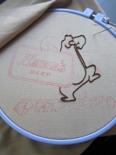 """Bear""ly Stitched"