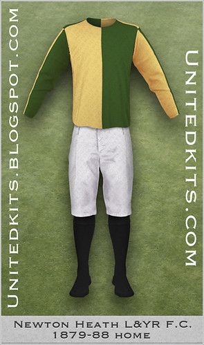 Newton Heath 1879-88 Home kit