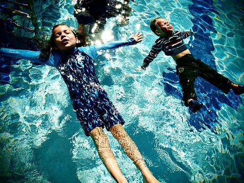 Swim proofed.