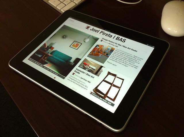 Flipboard en iPad