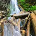 waterfall in transylvania