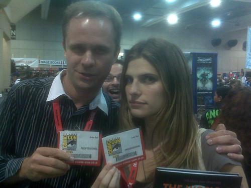Blake Bell & Lake Bell, Comic-Con 2010