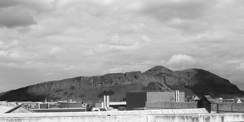 Arthur's Seat from National Museum of Scotland roof
