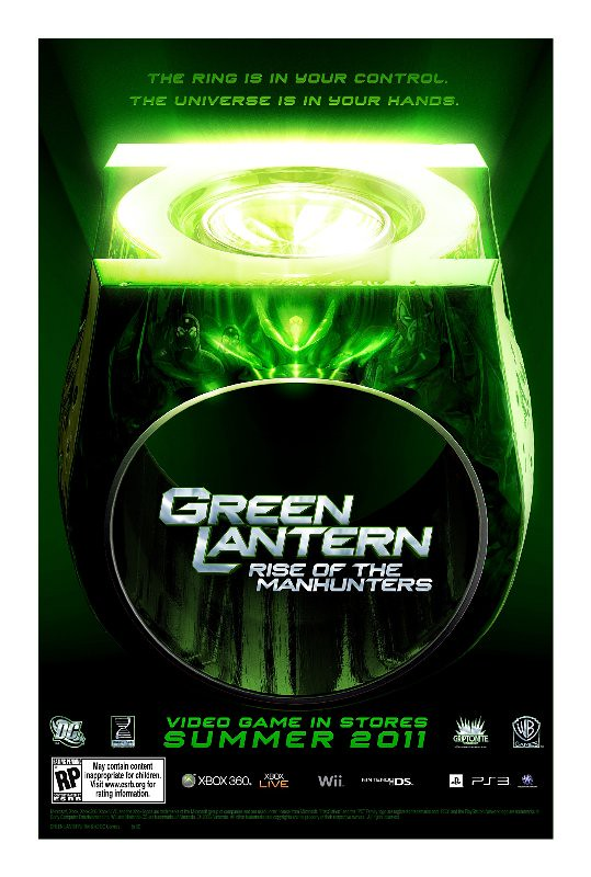 videogame Green Lantern Movie