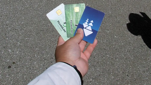 Three Generations of Transit Cards (TransLink Pilot, TransLink, and Clipper) Widescreen