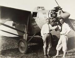 Travel Air 5000 (San Diego Air & Space Museum Archives) Tags: sdasm aviation aeronautics travel air 5000 aircraft airplane nx869 travelairmanufacturingcompany travelair travelair5000 woolaroc aviator aviators arthurcgoebel arthurgoebel artgoebel goebel