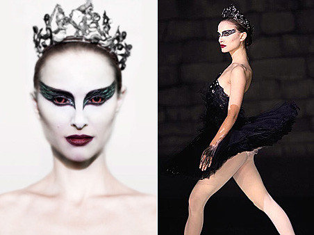 black swan makeup natalie portman. Natalie Portman as The Black