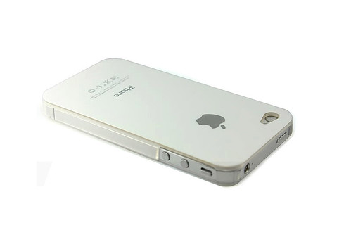 iPhone 4 White Plastic Case