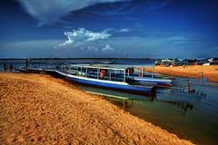 West Baray Lake at Angkor, Cambodia