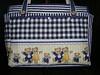 """Bosa para pertences do Bebê com tecidos da Casa dos Panos (""""Feltro Flor"""") Tags: quilt patchwork bolsa bolsas aula molde tecido bordado costura necessaire"""