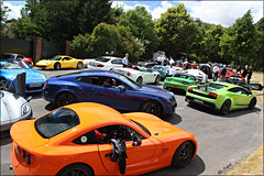 All the colours of the rainbow. (Alex Penfold) Tags: california alex up car photography photo insane nissan image lotus 5 alpina group 911 citroen picture continental super ferrari line sl exotic photograph porsche lp bmw alfa series b5 gto gt bugatti lamborghini rs bentley goodwood numberplate exotica tesla koenigsegg 2010 supercars combo veyron roadster combos ginetta gt3 zagato lambo penfold exige 8c festivalofspeed supersports 599 g40 superleggera 458 570 itlaia 370z agera lp5704 lp570