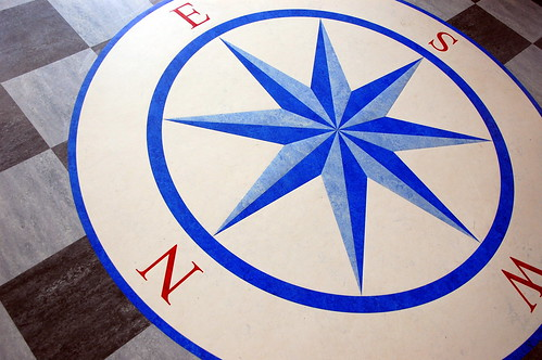 Compass Inlay