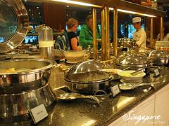 20100717-1 飯店早餐 E-P1 (5) (fifi_chiang) Tags: travel breakfast restaurant hotel singapore olympus riverview ep1 17mm 新加坡 濠景大飯店
