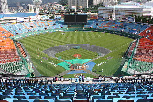 Sajik Baseball Stadium Lotte Giants