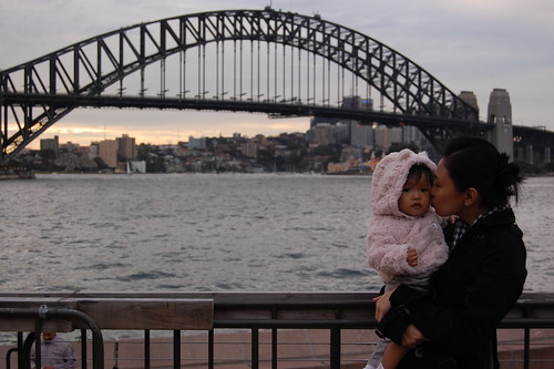 sydney bridge background