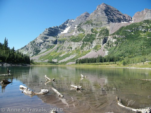 Crater Lake, Maroon Bells Wilderness, White River National Forest, Colorado