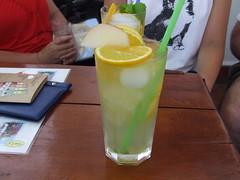 Zöldalmás limonádé Szigligeten