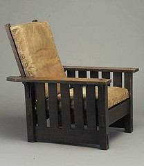 Stickley chair, 1902 (The-Voice) Tags: stickley artsandcraftsera historyofadvertising