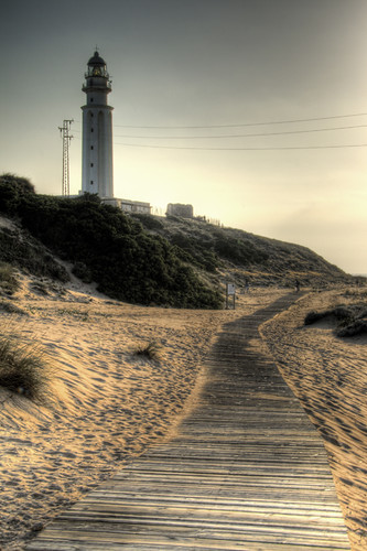 Trafalgar lighthouse. Faro de Trafalgar