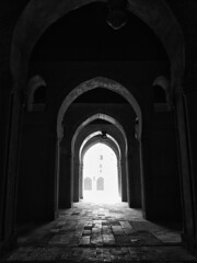 Black & White - Masjid Ahmed Ibn Tulun مسجد أحمد بن طولون‎ / Cairo / Egypt - 28 05 2010 (Ahmed Al.Badawy) Tags: white black architecture shots 05 egypt cairo 28 ahmed masjid islamic 2010 ibn بن مسجد أحمد tulun tulunids طولون‎ albadawy hutect