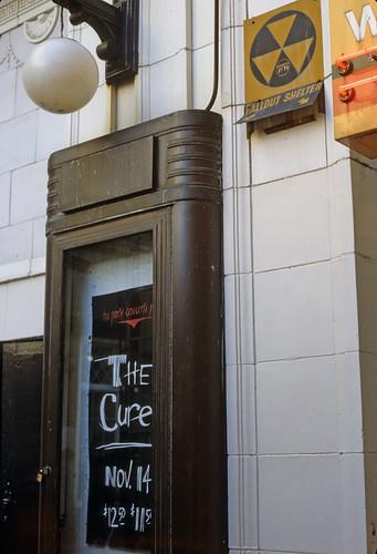 Orpheum Theatre Boston MA 1984 The Cure
