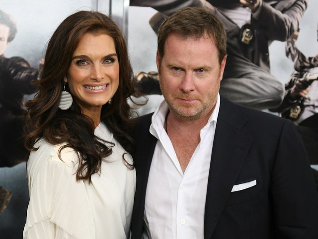 """Brooke Shields, Chris Henchy, """"The Other Guys"""" Film Premiere, New York"""