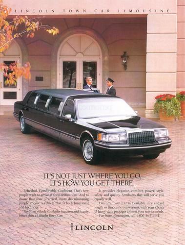 1995 Lincoln Town Car Limo. 1994 Lincoln Town Car
