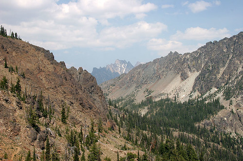 View from Saddle below Iron Peak