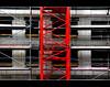 a red selection (Wollbinho) Tags: city red abstract building slr rot window photoshop canon germany concrete deutschland europa europe crane steel fenster baustelle stadt frame dslr tamron constructionsite kran gebäude mannheim beton neubau abstrakt stahl badenwürttemberg gerüst kurpfalz wollbinho thomaswollbeck canoneos1000d mannheimat madewithloveinmannheim