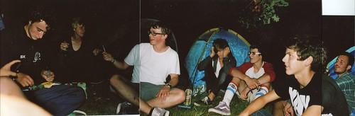 camping at Dunblane