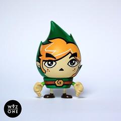 Zelda Fire (WuzOne) Tags: vinyl zelda custom element artoy wuzone