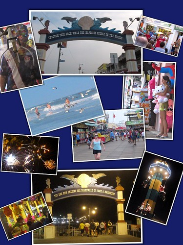Wildwood photo collage - some of the best moments.