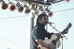 Conor Oberst (itsjessie) Tags: show sunglasses beard lights concert eyes nebraska singing bright guitar live stage connor shades passion microphone omaha mis conor oberst concertforequality
