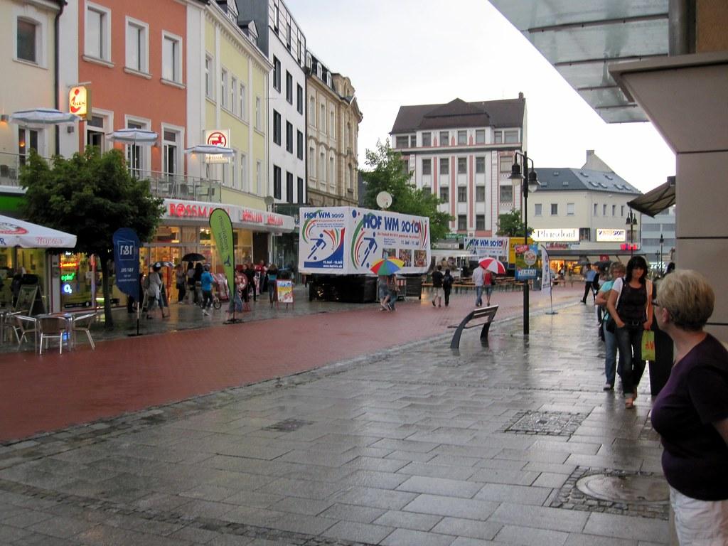 Rain in Hof