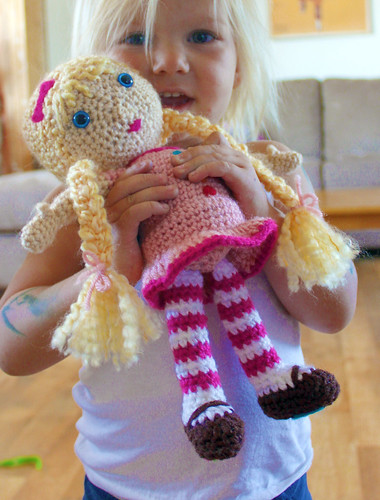 Free Crochet Pattern Doll A Photo On Flickriver