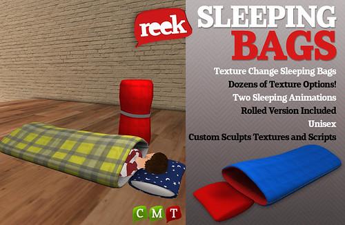 Reek - Sleeping Bags