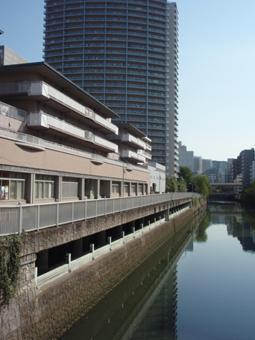 日本目黑川荏原調節池的外觀。圖片來源:東京都產業勞動局