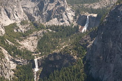 Vernal and Nevada Falls Photo