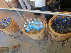 3 Baskets of Bottled Water - Starbucks