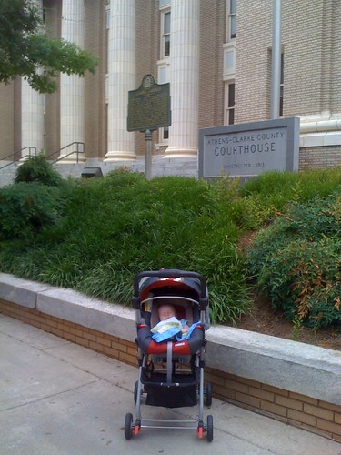 Theo's first (and better be last) time at juvenile court