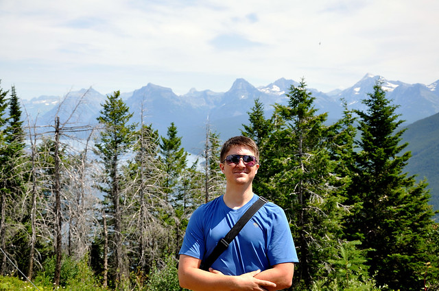 Neil at Apgar Lookout