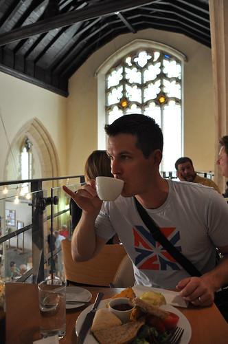 Coffee in a Church