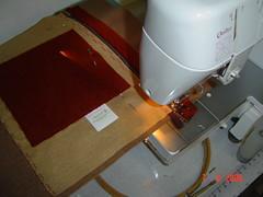 """DSC00048 (""""Feltro Flor"""") Tags: quilt patchwork bolsa bolsas aula molde tecido bordado costura necessaire"""