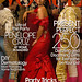 Penelope Cruz in Oscar de la Renta - Cover of US Vogue December 2007