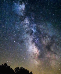 Summer Milky Way (Sky Noir) Tags: sky nature vertical night dark way stars outdoors solar noir space clusters system sagittarius clear galaxy nebula astronomy dust milky blackhole lightpollution milkyway starlight deepsky vertorama skynoir yahoo:yourpictures=light