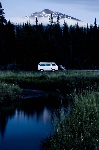 The vanagon and mt bachelor